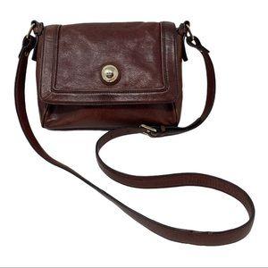 Kate Spade vintage brown leather crossbody bag